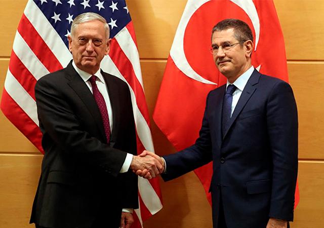 Mattis'ten Afrin açıklaması: Türkiye ile aynı fikirde olmadığımız bazı noktalar var
