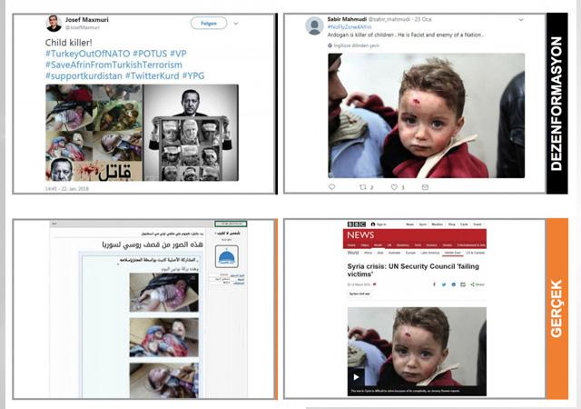 Sosyal medyada Zeytin Dalı Harekatı'na kara propaganda!