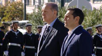 Erdoğan 'Meçhul Asker Anıtı'na çelenk bıraktı