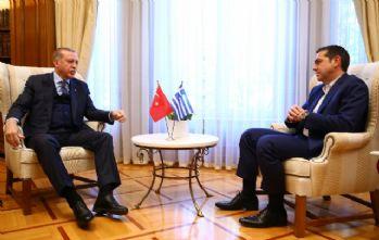 Erdoğan Pavlopoulos ve Çipras'la görüştü