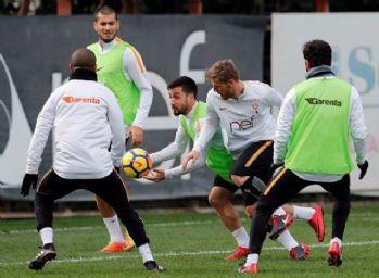 Galatasaray'da Akhisarspor maçı hazırlıkları sürüyor