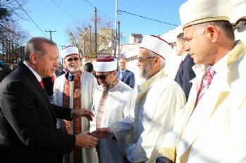 Erdoğan cuma namazını Gümülcine'de kıldı