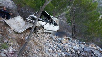 Alanya'da trafik kazası: 2 ölü, 2 yaralı