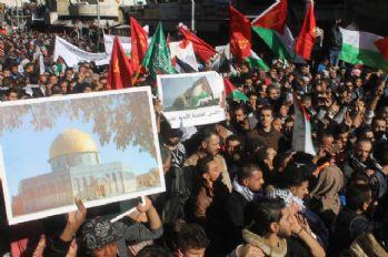 Amman'da onbinler Kudüs için eylem yaptı