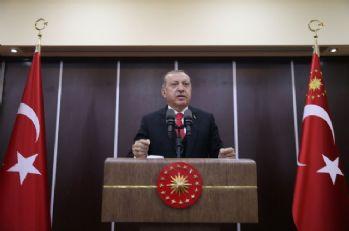 Cumhurbaşkanı Erdoğan, soydaşlara hitap etti