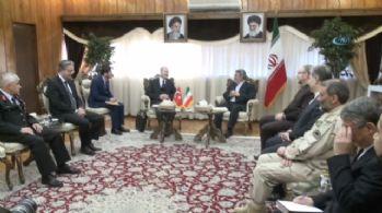 Bakanı Soylu, İranlı mevkidaşıyla bir araya geldi