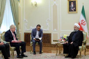 Hasan Ruhani Boris Johnson'la görüştü