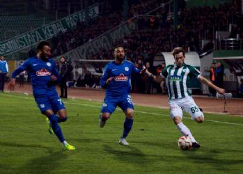 Karadeniz derbisinde 5 gol