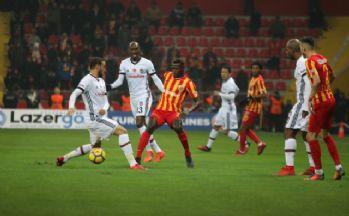 Beşiktaş beraberlik golünü son dakikada buldu