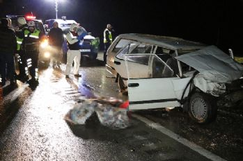 Karabük'te feci kaza: 2 ölü, 1 yaralı