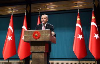Erdoğan'dan 'Hanuka Bayramı' mesajı
