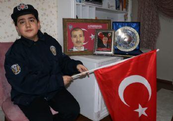 Şehit çocuğunun Fenerbahçe hayali