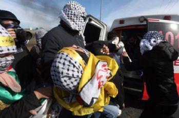 İsrail mezaliminde 163 kişi yaralandı