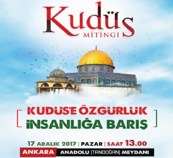 Kudüs için Anadolu Meydanına