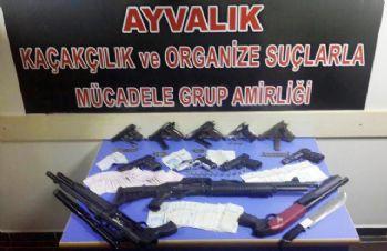 Suç örgütüne hava destekli operasyon: 17 gözaltı