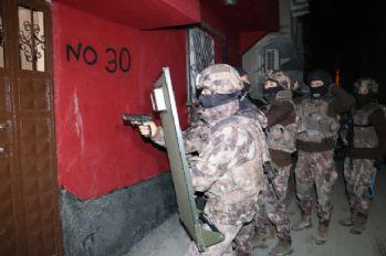25 adrese terör operasyonu: 13 gözaltı