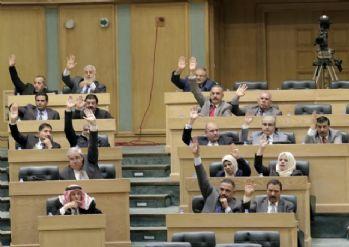 Ürdün Parlamentosunda İsrail tartışması