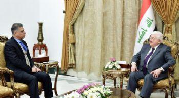 Irak Cumhurbaşkanı, Türkmen liderle görüştü