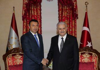 Başbakan Yıldırım, Tacikistanlı mevkidaşıyla görüştü