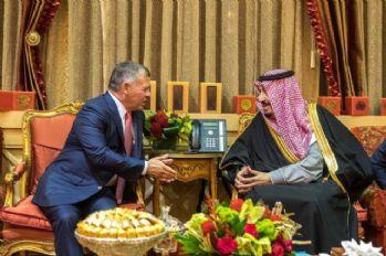 Ürdün Kralı II. Abdullah, Kral Salman Bin Abdulaziz ile görüştü
