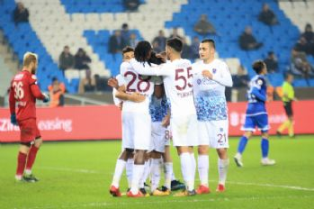 Trabzonspor'da yedeklerin formu yüzleri güldürdü