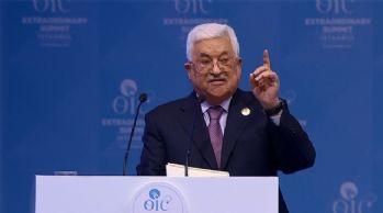 Bir çağrı da Mahmud Abbas'tan