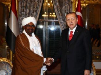 Cumhurbaşkanı Erdoğan, Sudan Devlet Başkanıyla görüştü