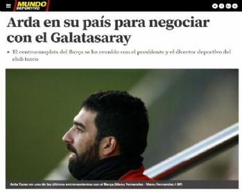 İspanyol basınından Arda Turan iddiası
