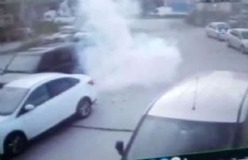 İstanbul'da işyerine EYP'li saldırı kamerada