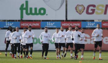 Galatasaray Yeni Malatyaspor maçı hazırlıklarını sürdürdü