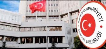 Dışişleri'nden Ermeni Bakanın açıklamalarına tepki