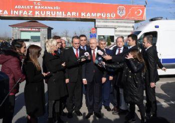 Kılıçdaroğlu'ndan Enis Berberoğlu'na ziyaret