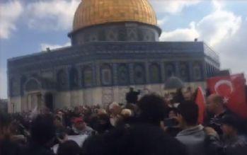 İsrail güçleri Kudüs'te göstericilere müdahale etti