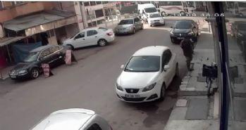 Çaldıkları parayı harcayan hırsızlar kamerada