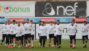 Galatasaray'da, Evkur Yeni Malatyaspor mesaisi sürdü