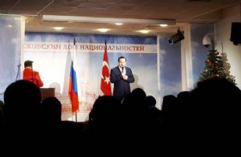 Moskova'da, Rusya ve Türkiye dostluk konseri