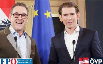Avusturya'da merkez sağ-aşırı sağ koalisyonu