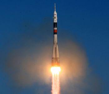 Soyuz uzaya fırlatıldı