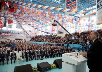 Cumhurbaşkanı Erdoğan AK Parti Karaman kongresinde