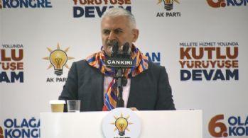 Başbakan Çankırı'da konuştu