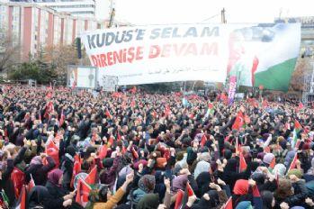 Ankara'dan dünyaya 'Özgür Kudüs' mesajı