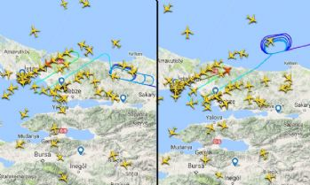 İstanbul'da hava trafiğine yağmur engeli