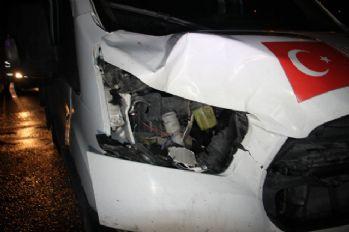 TEM'de kamyonetin çarptığı yaya hayatını kaybetti