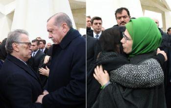 Erdoğan çiftinden Yılmaz çiftine taziye