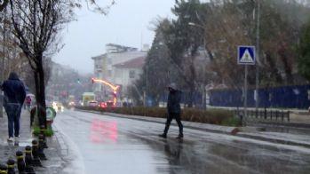Balkanlar'dan gelen kar yurda giriş yaptı