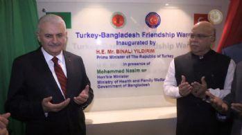 Bangladeş'te açılış yaptı