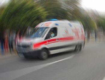 İşçi servisi devrildi: 19 yaralı