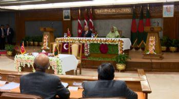 Bangladeş ile Türkiye arasında 2 anlaşma imzalandı
