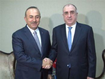 Dışişleri Bakanı Çavuşoğlu, Bakü'de