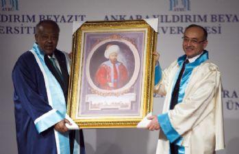 Cibuti Cumhurbaşkanı Guelleh'e fahri doktora unvanı